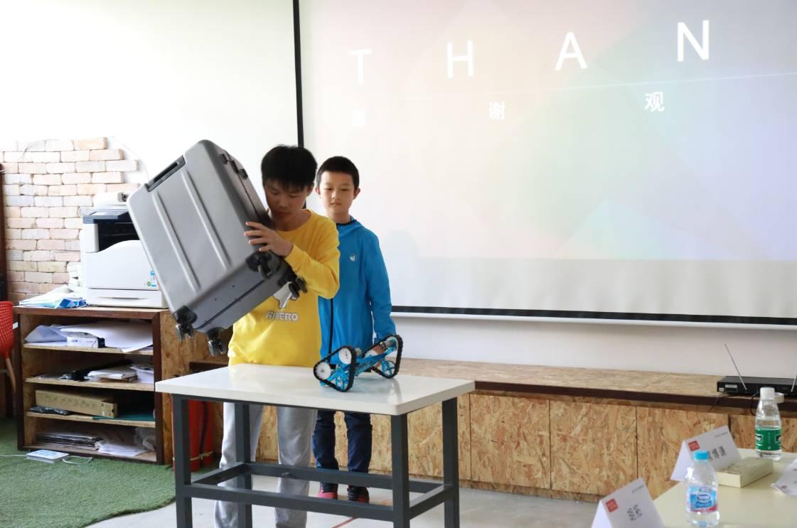 看这些来自孩子们的黑科技!